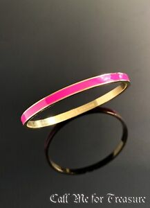 Kate Spade enamel bangle bracelet NEW