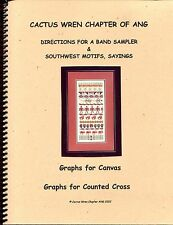 AZ Cactus Wren Chapter American Needlepoint Guild SW Motifs Sample Designs Book