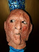 Vintage 1987 FREDDY KRUEGER Don Post Mask A Nightmare on Elm Street Halloween