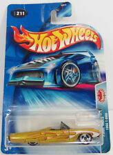 HOT WHEELS 2004 HW PRIDE RIDES 1963 T-BIRD GOLD WITH FLAMES 1:64 B3812 -L6