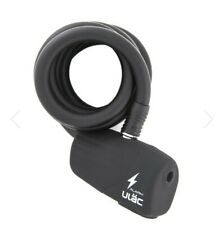 Ulac The Bee Cable Cycle Lock with 110DB Alarm