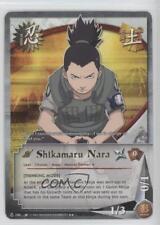 2007 Naruto Collectible Card Game: Quest for Power #N286 Shikamaru Nara 2o0