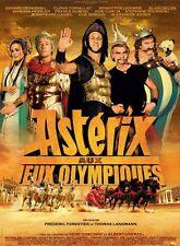 Affiche 40x60cm ASTÉRIX AUX JEUX OLYMPIQUES 2008 Poelvoorde, Cornillac NEUVE