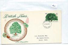 WBC. - GB-Primo giorno di Copertura-FDC - 561-SPECIALI - 1974-British alberi.
