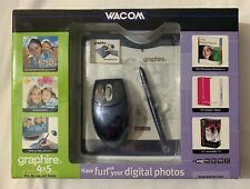 Wacom Graphire 3 4x5 USB Tablet w/Pen, Mouse & Software CD's CTE430SA New Sealed