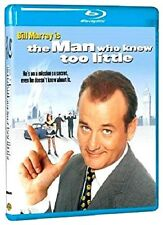 "Bill Murray is ""THE MAN WHO KNEW TOO LITTLE (1997)"" Comedy BLU-RAY (2015)"
