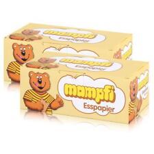 Mampfi Esspapier Oblaten 200 Stück - unverwechselbarer Geschmack (2er Pack)