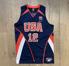NBA JERSEY USA DREAM TEAM BASKETBALL DWIGHT HOWARD NIKE AUTHENTIC SZ Xl LAKERS