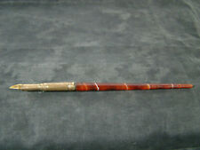 VINTAGE GOLD AGATE DIP PEN ANTIQUE VICTORIAN VINTAGE OLD
