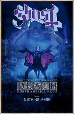 GHOST The Ultimate Tour Named Death 2019 Ltd Ed New RARE Tour Poster! Prequelle