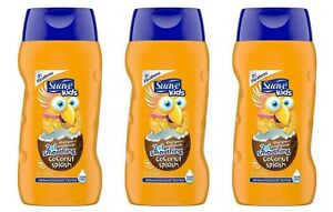 Suave Kids 2 in 1 Shampoo & Conditioner Smoothing, Coconut 12oz Each (Pack of 3)