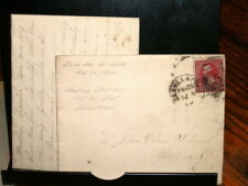 #7313,SC#219D,PM2/28/1890(6th Day of Issue)w Nice Letter,Cleve to Mantua Station