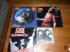 "OZZY OSBOURNE RANDY RHOADS  MR.CROWLEY 12"" LP PICTURE DISC 7"" RARE RECORD"