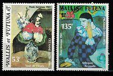 Timbre Poste Aérienne N° 110 et 111  de Wallis et Futuna neufs **