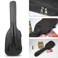 Double Straps Padded Electric Bass Guitar Gig Bag Soft Case Backpack 40