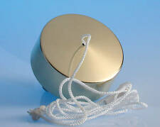 6 Amp 2 Way Ceiling Pull Cord Switch - Brass