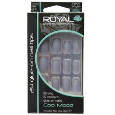 Royal 24 Glue-on Strong & Resilient Nail Tips - Cool Mood