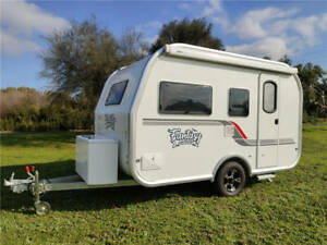 2020 Fantasy Caravan 12FT Lightweight On Road Ensuite Bunk Rear Door 4 Berth