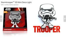 Official Star Wars Storm Trooper 3D FX Deco Mini Wall Home LED Night Light