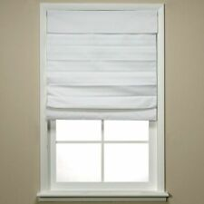 New/open package: Insola Chatham Cordless Roman/Cellular Shade in White 48 in...