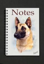Belgian Shepherd Dog Notebook / Notepad By Starprint - Auto combined postage