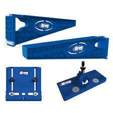 Kreg Drawer Slide Mounting Tool w/ Cabinet Hardware Jig & Concealed Hinge Jig