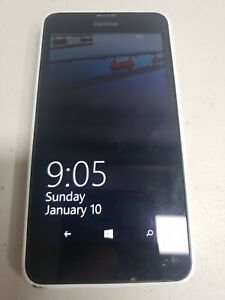 NOKIA LUMIA 635 RM-1078 White Virgin Mobile 8GB WINDOWS 8 in Neat Condition