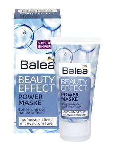4 New Packs Balea Beauty Effect Power Mask 50 ml