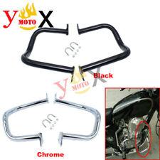 Highway Engine Guard Crash Bar Protection Bumper For Honda CB400SS Chrome/Black