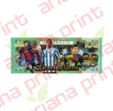 Lionel Messi - Australian 100 Dollar Novelty Money