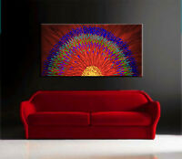 New Modern Original Oil Painting Large Wall Abstract Canvas Home Christmas Gift