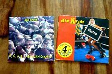 2  x CD Die Ärzte 5,6,7,8 Bullenstaat + Hurra