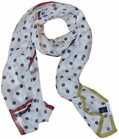 PAUL SMITH POLKA DOT PRINT LIGHTWEIGHT VISCOSE SCARF BNWT VERY RARE