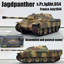 WW2 German Jagdpanther tank destroyer s.Pz.JgAbt.654 diecast 1/72 Easy model