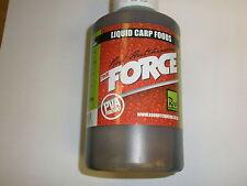 Rod Hutchinson la force liquide Carpe Nourriture 500 ml Fishing Tackle