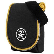 Crumpler Muffin Top 55 Black / Mustard Compact Camera Case