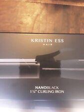 Kristin ESS  HAIR NANOBLACK 1.25  Curling Iron MODEL KES0339 OPEN BOX