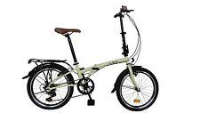 """ecosmo 20"""" Nuevo Plegable Ciudad Bicicleta 6sp-20f01bl"""
