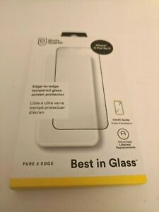 BodyGuardz Pure 2 Edge Tempered Glass Screen Protector For iPhone 11 Pro/Xs/X