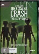 THE ROSWELL CRASH THE BEST EVIDENCE -  NEW &SEALED  REGION 4 DVD FREE LOCAL POST
