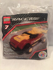 2009 COLLECTIBLE LEGO RACERS  7 CURVE CHASER MCDONALD'S HAPPY MEAL TOY NIP*