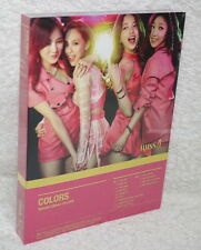 K-POP miss A the 7th project Colors Taiwan Ltd CD+DVD w/bonus 3 trks (9 tracks)