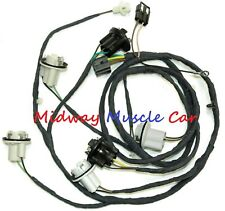 rear body tail light trunk wiring harness 69 Chevy Camaro z/28 SS