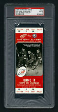 PSA 4 THE PRODUCTION LINE Unused NHL Ticket Gordie Howe Sid Abel Ted Lindsay