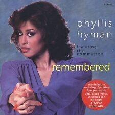 Remembered  (CD) Phyllis Hyman