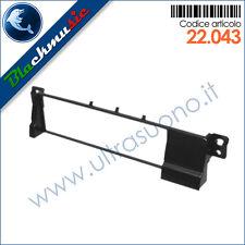 Mascherina supporto autoradio ISO Bmw serie 3 (E46 1998-2006) colore nero