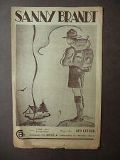 Scoutismo Spartito Canto Scout Sanny Brandt Brussel Figurato