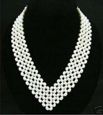 Classic Stylish Women's Jewelry white Pearl Necklace A