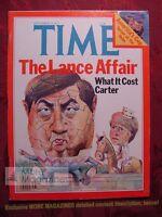 TIME Magazine September 19 1977 Sept 77 BERT LANCE TED TURNER AMERICA'S CUP +++