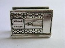 JUDAICA MATCH BOX HOLDER CASE COVER LUCHOT DESIGN STERLING SILVER 925 SHABBATH